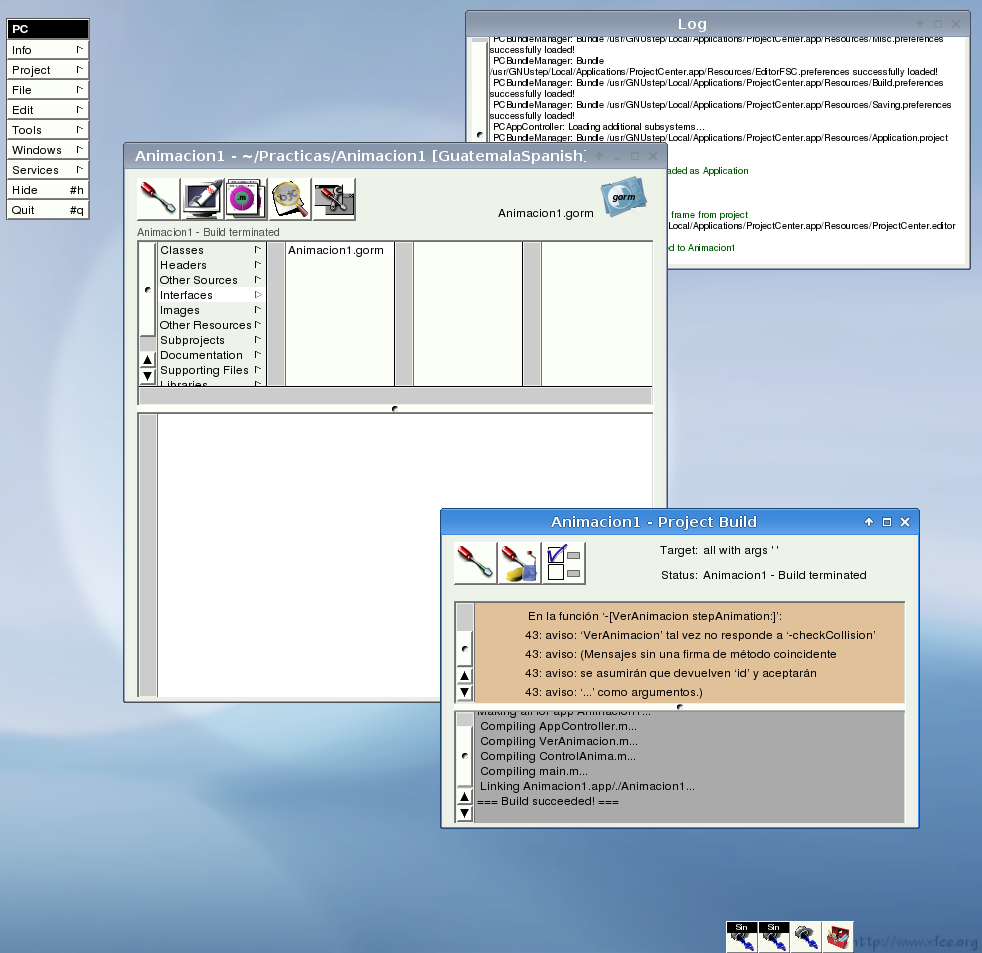 IconManager on Xfce
